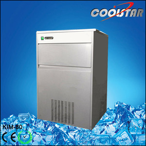 80KG Capacity Bullet Type commercial portable ice maker