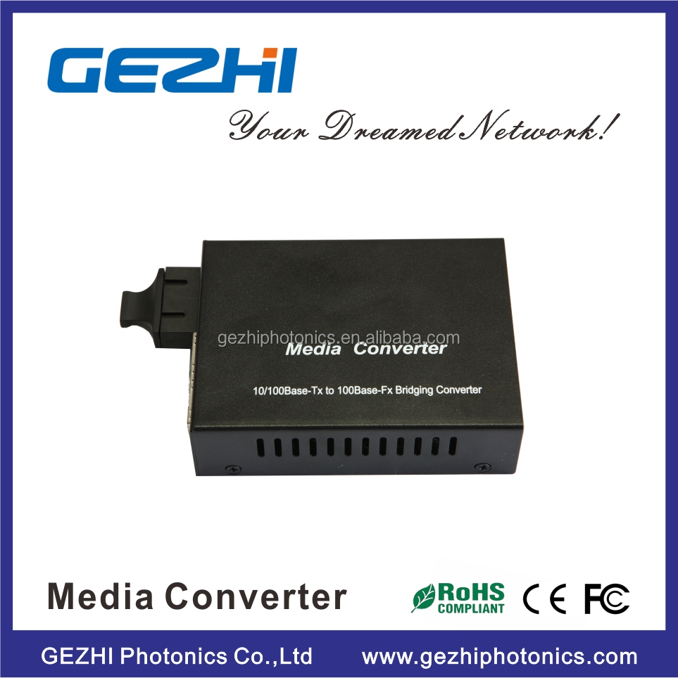 1000Base telecom equipment ssuper media converter