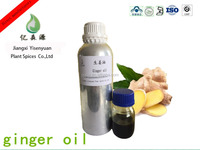 Natural Dried China Ginger Oil For Body Skin With 50% Gingerol