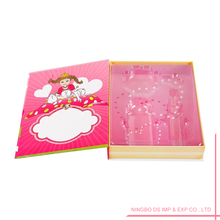 Comic Print Cosmetic Packaging Book Like Boxes