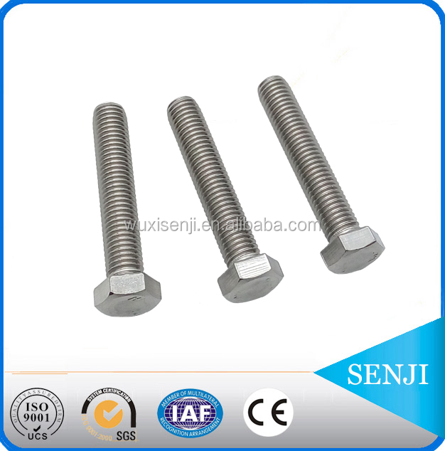 Stainless steel a4 80 a2-70 m8 bolt dimensions / bolt and nut supplier