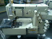 3 needle double chain stitch sewing machine for lap seaming ATR-1503PTF Kansai Special Sewing Machine Type