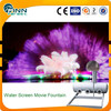 Movie water screen fountain multimedia large outdoor screen projector