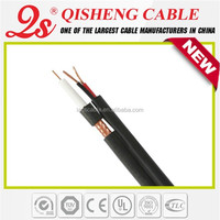 high speed transmit signal cable rg59u rg59+2c cctv cable bunker hill security camera extension cable