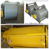 trolley winch drum tower crane spare parts