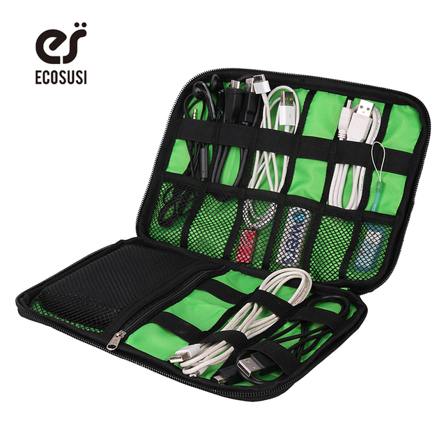 Hot Travel Bag Electric Bags Flash Disk Case Digital Accessorie Bags  Earphone Wire Storage Bag Electric Accessories Organizer