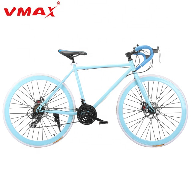 VMAX Road Bike 700C Wheels 21 Speed Disc Brake <strong>Cycle</strong> / City Bike / Racing Bike