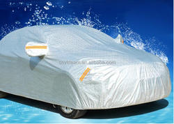 UV Protector Polyester Smart Car Cover , Full Set Car Body Cover