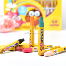 Gift stationery set of hexagonal crayon
