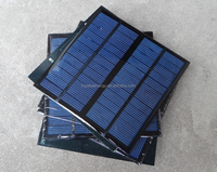 mini 12v 3w solar panel PET laminated/Epoxy resin encapsulated