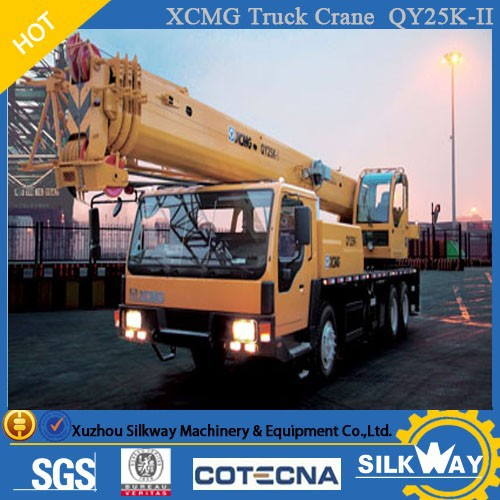 TOP Exported Mobile Crane XCMG 25ton Truck Crane QY25K-II for Sale