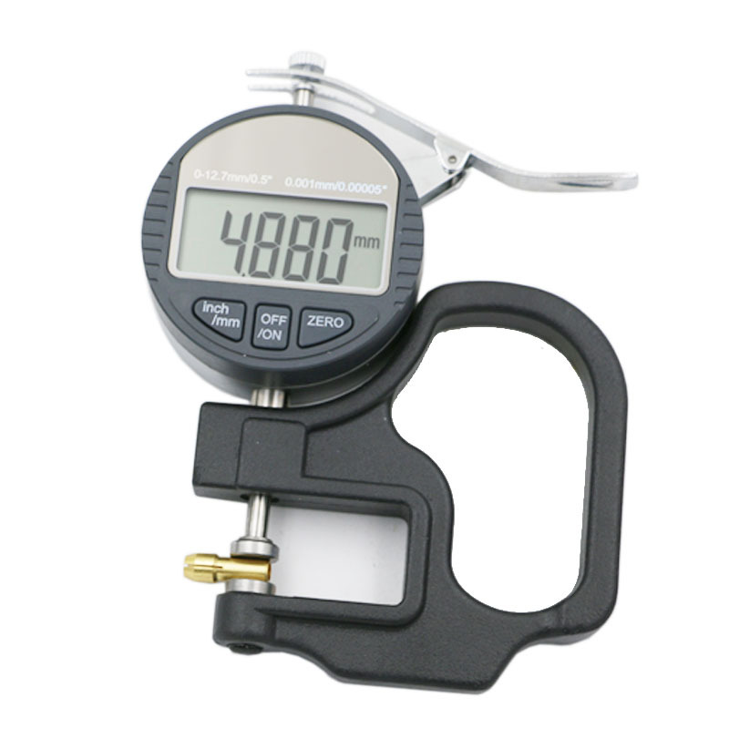 Digital measuring <strong>thickness</strong> meter gauge 0.001mm paper film cloth leather plate
