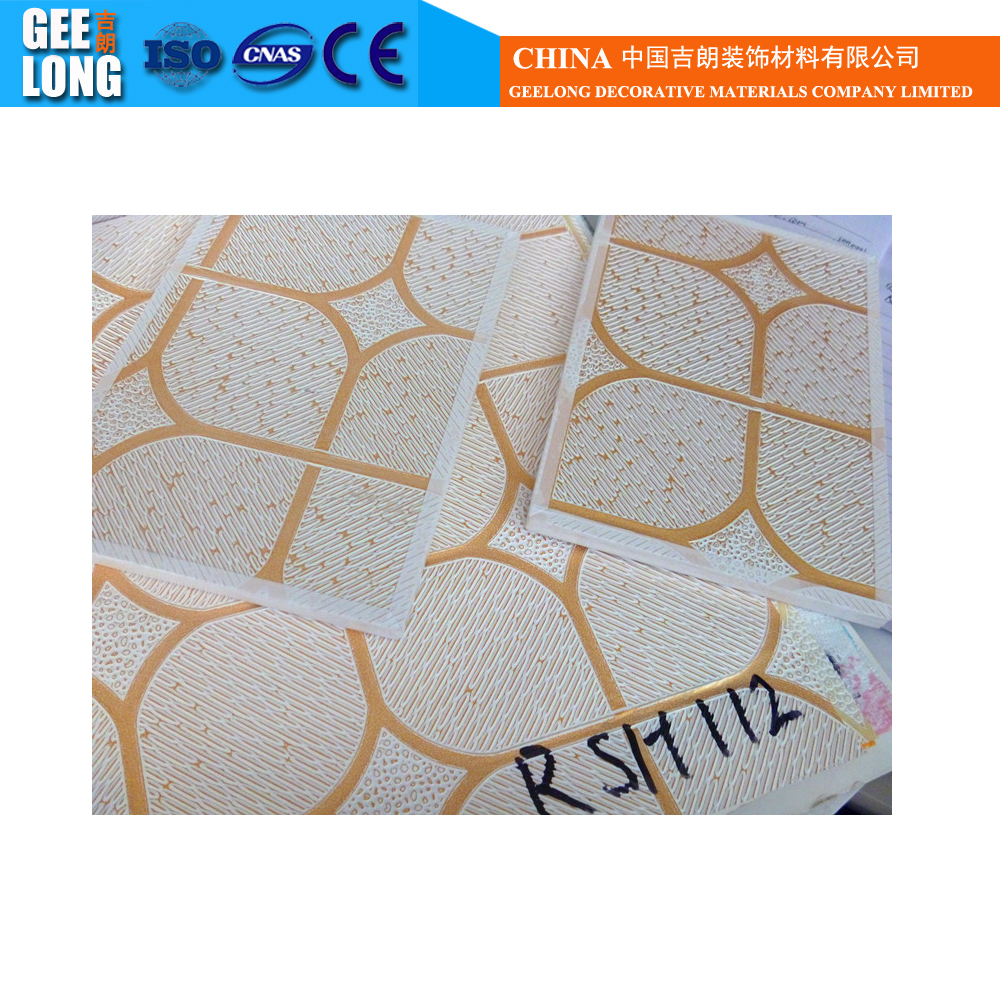List manufacturers of suppliers of gypsum ceiling tiles buy interior decorations silver gold foil pvc vinyl gypsum ceiling tiles 600600 dailygadgetfo Images