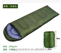 Low price high quality light weight camping outdoor sleeping bag