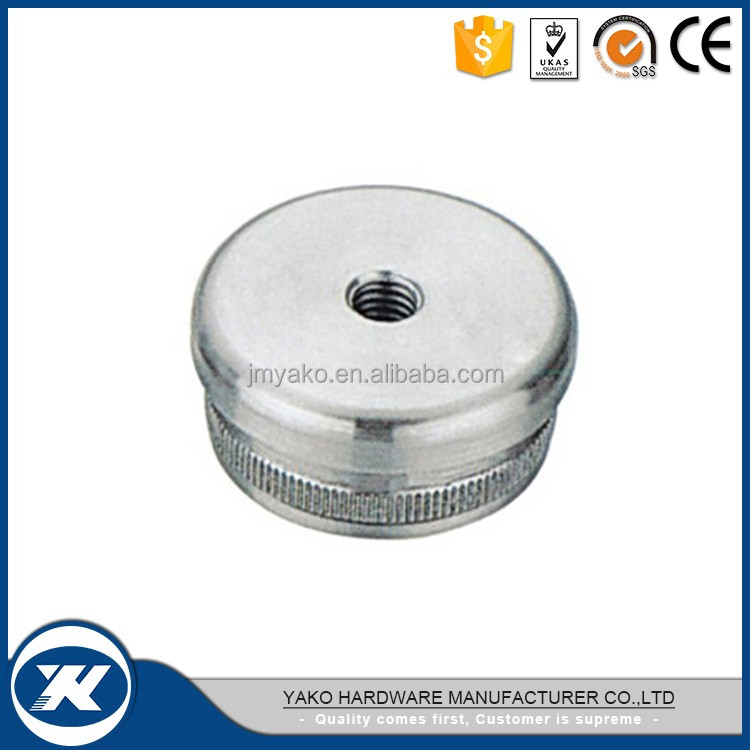 Brand new 304/316 end cap for steel round tube