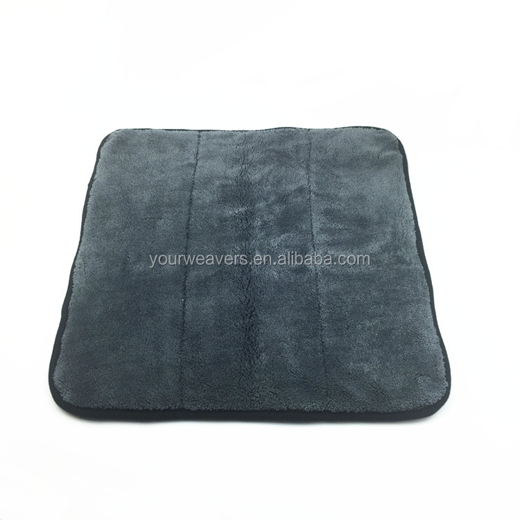 40x40cm 1000gsm Super Plush Junior Microfiber Car Towel
