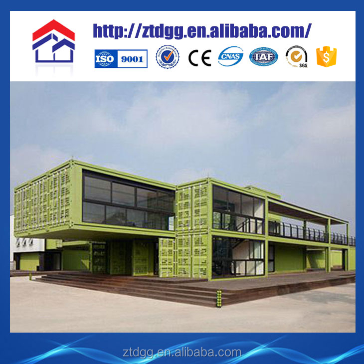 Portable container house with galvanized steel sheet price in india