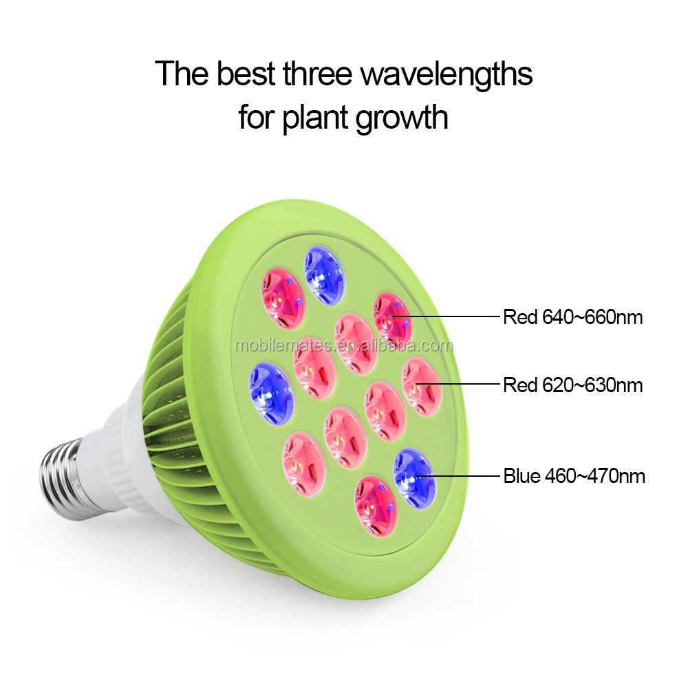 LED Grow Light Bulb High Efficient Hydroponic Miracle Plant Grow Lights for Garden Greenhouse