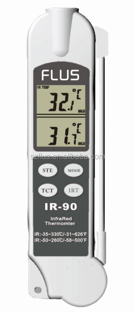 measurement temperature instruments accurate long probe thermometer infrared low cost