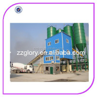 HZS75 concrete mixer plant concrete mixing batch plant stationary concrete batching plant