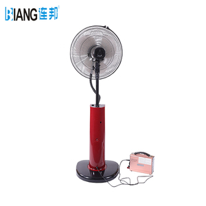 Factory AC/DC Operated Rechargeable air mist fan water cooler spray fan