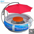 OEM popular in europe!!! europe bbq donut boat for leisure