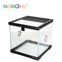 Nomo 2016 newst style Custom Clear And Transparent Acrylic Reptile Cages Terrariums reptile