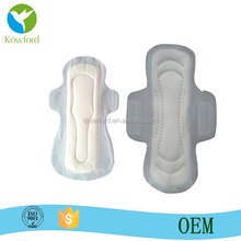 Cotton,Breathable non woven Material and Disposable Style Sanitary Pads