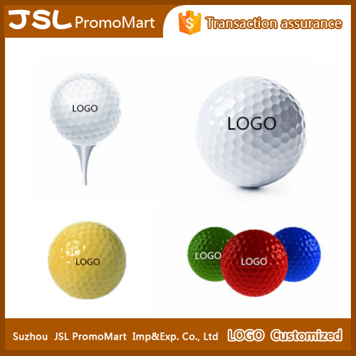 Synthetic rubber surlyn material practice golf ball