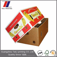Corrugated fruit packing boxes/cardboard banana box/banana carton box