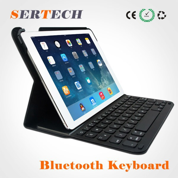 For ipad air ABS Wireless bluetooth keyboards with 360 Degree Rotating Apple Accessories