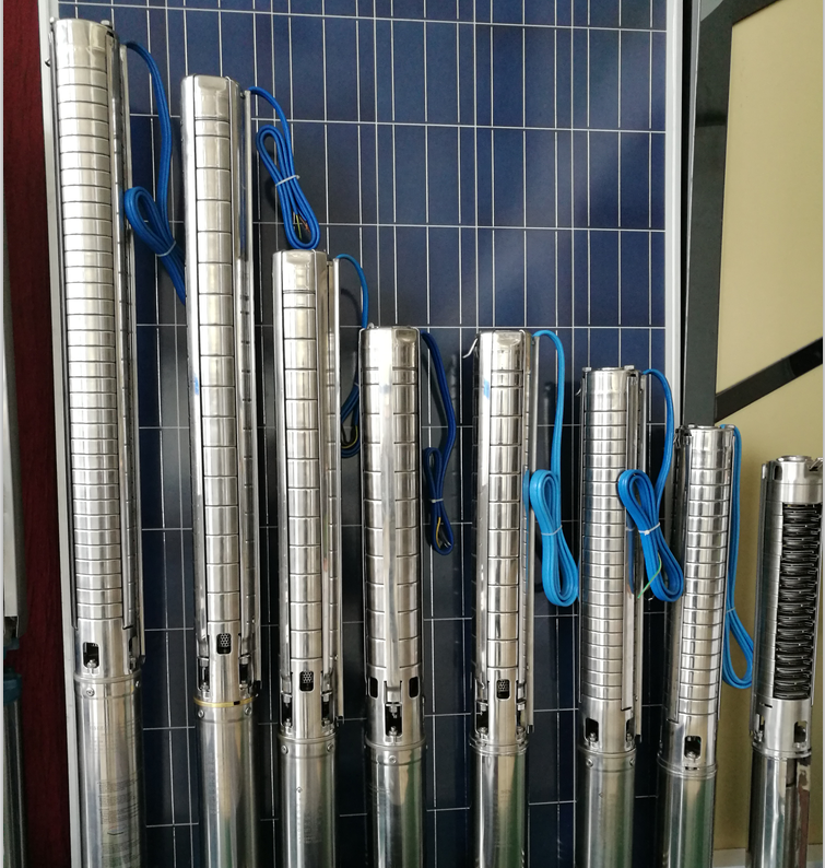 100m head solar submersible solar water <strong>pump</strong> with mppt controller