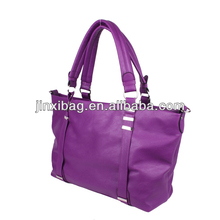 High quality mauve leather handbags New model