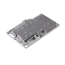 OEM die casting aluminum waterproof electronic enclosure for communication