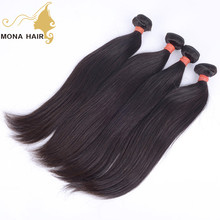 Supple human Straight hair extension no tangle cheap brazilian hair for sale
