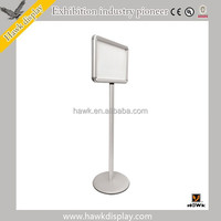 Wholesale a4 Floor Sign Holder Stand YC-12C