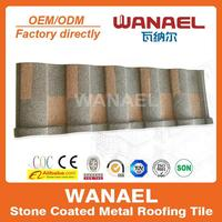 Roman Bond SONCAP flat type stone coat cheap roof tiles,factory sale directly,best selling products in Nigeria