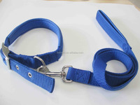 2.5CM nylon /pu pet collar with Zinc alloy buckle