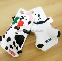 2015 Creative new cell phone 3D silicon case for iphone 6 soft silicone cartoon case