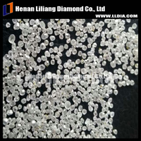 Henan High temperature high pressure uncut rough crystal diamond beads