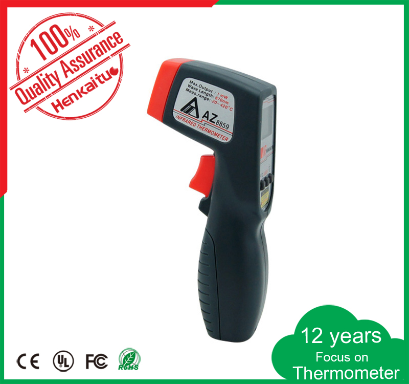 Digital LCD Display Non Contact Infrared Thermometer 420 Degree Mini Laser Temperature Gun Food Meat Thermometer