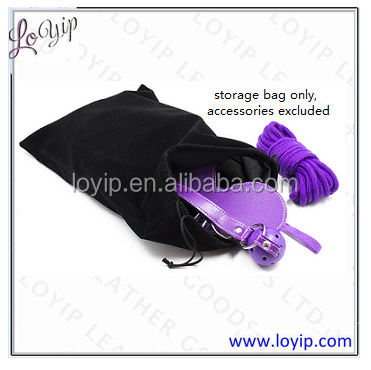 Cheap Custom Drawstring Storage Bag for Sex Toy Bondage Restraint, Viabrators