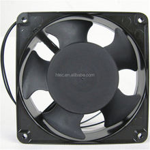 MRS16-BB mini Axial cooling Fan Blower single phase 100/110/115V 6.2~7.3m^3/min 127~157Pa