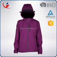 OEM wholesale cheap spring puple lightweight womens sport jacket