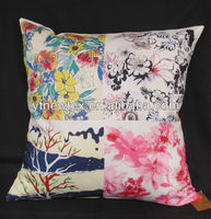 back support floor printed cushion