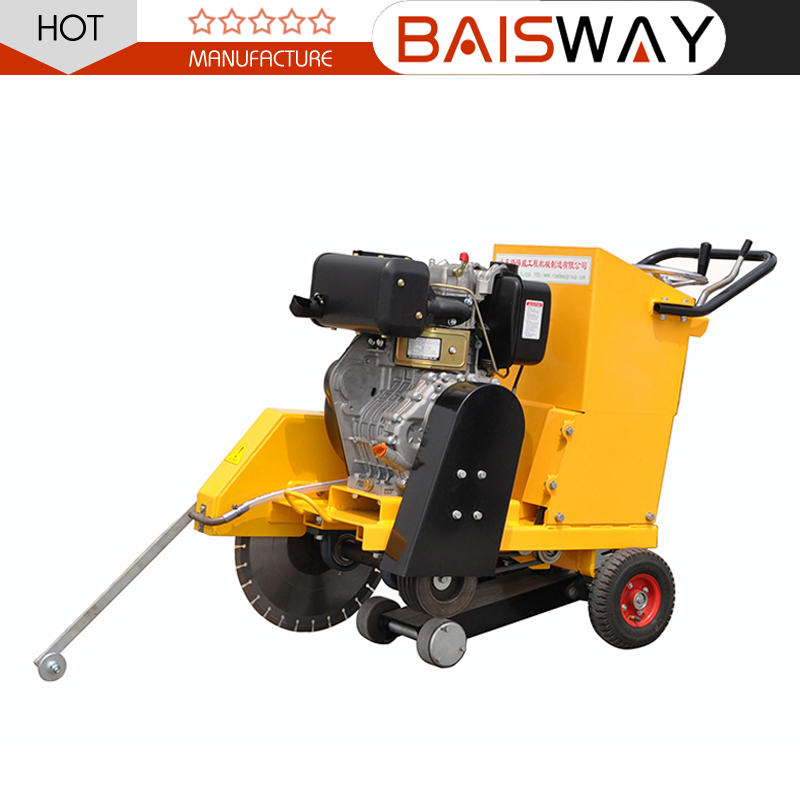 Concrete road cutting machine for sale,best quality road concrete cutter