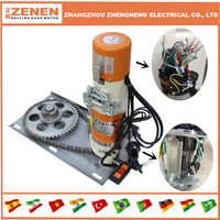 ZENEN Rolling Shutter Door Motor AC gear motor for roller door