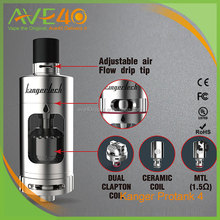 2016 Ave40 Newest 22mm*65.5mm kanger mini protank, Kangertech protank 4 with Silver color
