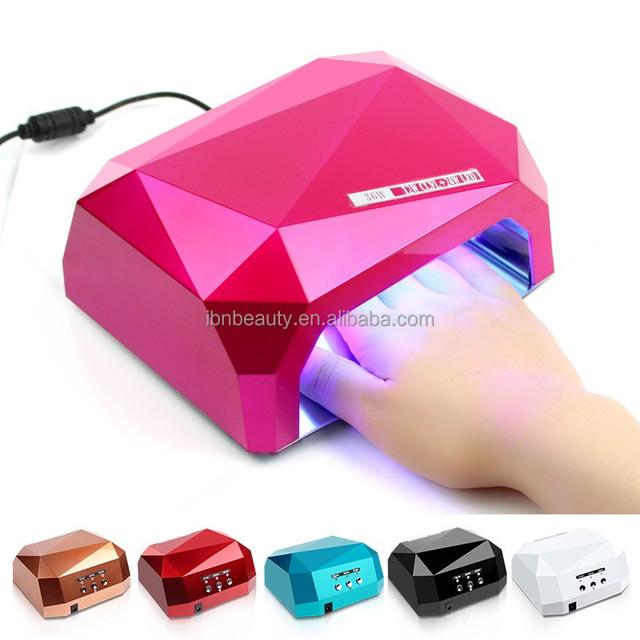 Automatic Induction Sensor Diamond Lampa 36W CCFL UV Led Nail Lamp For Led Nail Gel