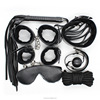 Sexy Product Set Adult Games PU Leather Bondage Kit 7 pcs Sex toys